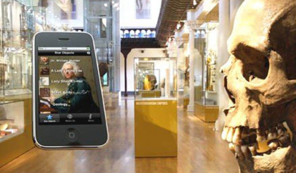 CQ2 attend seminar on handheld and mobile guides in museums