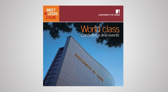 Meet in Leeds corporate literature