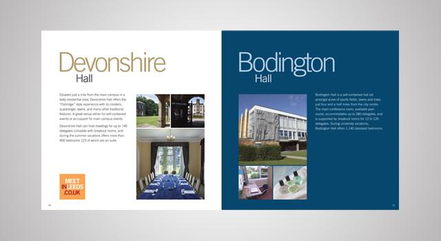 Meet In Leeds Brochure Design