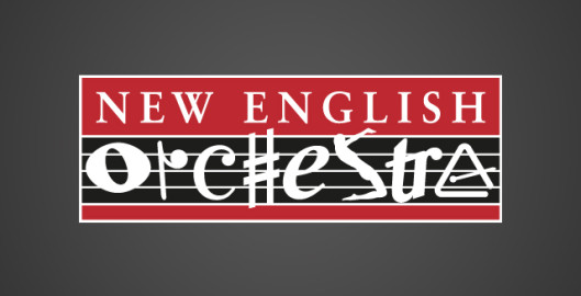 New English Orchestra Logo Design