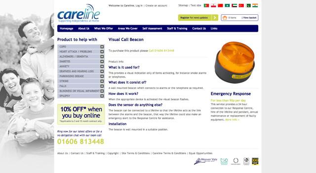 Weaver-Vale-Careline-Website-Design-and-Development-2