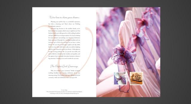 Wicksteed Park Weddings Brochure Design CQ2 Limited