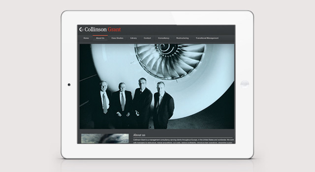 Collinson Grant HR Website Design