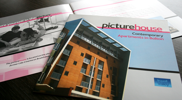 Irwell Valley Housing Association corporate literature design