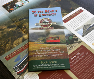 Snowdon Mountain Railway Corporate Literature