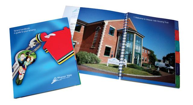 Weaver Vale Housing Trust Corporate Literature Design