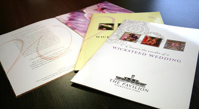 Wicksteed Park Weddings Brochure Design - CQ2 Limited