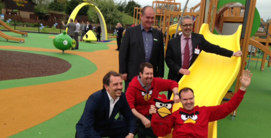 Angry Birds Launch at Lightwater Valley