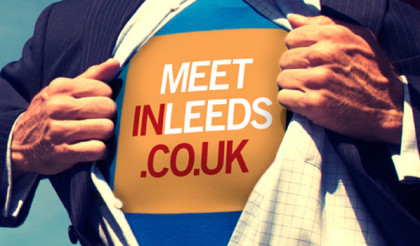 Meet In Leeds Superman Advert