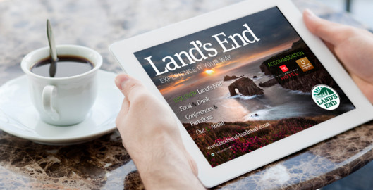 Land's End Launches Brand New Free App for iPad