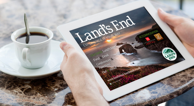 Land's End 'Digital Destination Guide' App