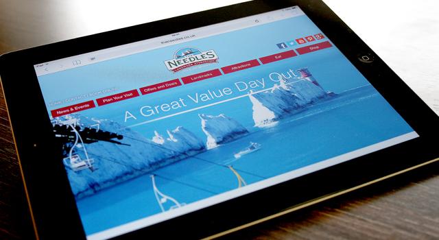 Website design and development for The Needles Park