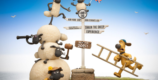 Land's End Shaun the Sheep Experience