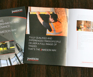 Jamieson Contracting Brochure