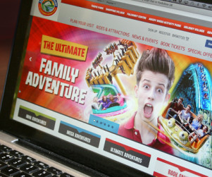 Lightwater Valley Website Design and Development