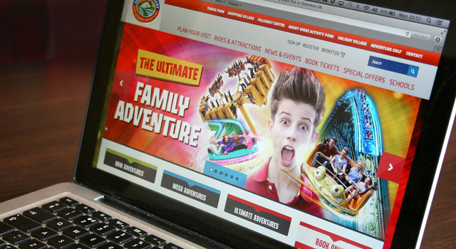 Ecommerce website design and development for Lightwater Valley