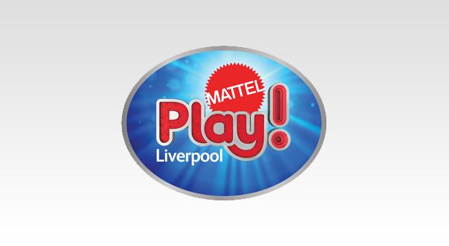 Mattel Play! Liverpool Brand Identity Design