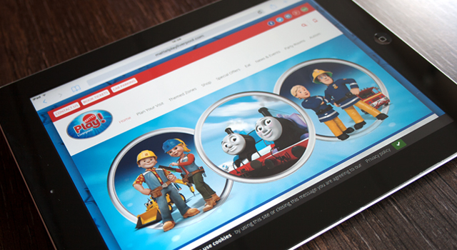 Mattel Play! Liverpool Website Development